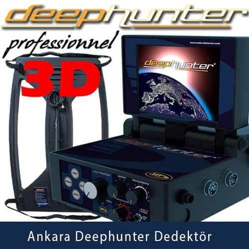 Dedektör,Ankara Makro Deephunter 3D Dedektör