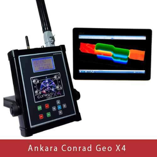 Ankara Conrad Geo X4, Yeraltı Görüntüleme, Ankara Conrad, Ankara Conrad Yeraltı Görüntüleme Cihazı, Ankara Yeraltı Görüntüleme Cihazları