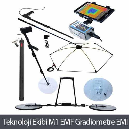 Ankara Teknoloji Ekibi M1 EMF Gradiometre EMI Yeraltı Görüntüleme Cihazı,Ankara Teknoloji Ekibi, Dedektör, Yeraltı Görüntüleme
