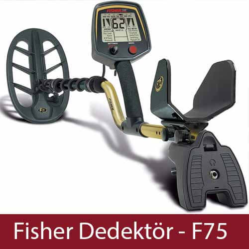 Fisher F75 Metal Dedektor - Metal Dedektörü, Fisher Dedektör, Ankara Dedektör, Ankara Dedektör Cihazları,Fiyatları, Yorumları, Özellikleri