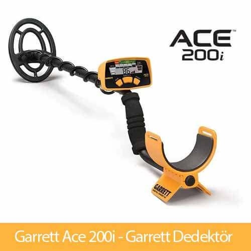 GARRETT ACE 200i » Garrett Dedektör » Metal Dedektörü, Tek Para Dedektörü, Garrett Metal Dedektörü, Metal Ayrımlı Dedektör